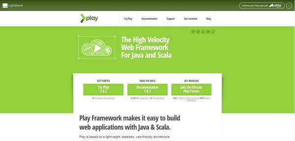 Play Framework(应用程序框架)