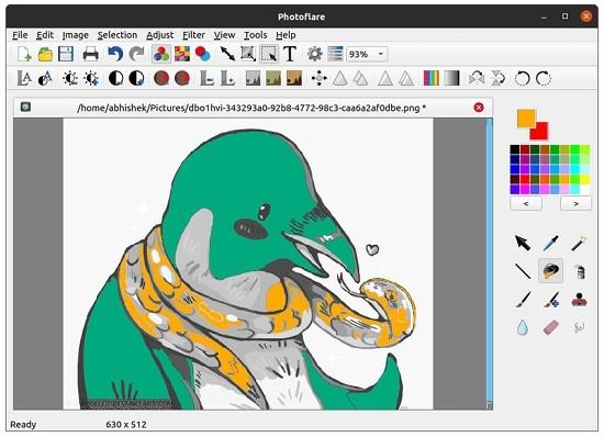 Photoflare(开源图像处理工具)